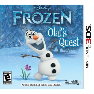 Nintendo 3DS - Disney Frozen: Olaf's Quest