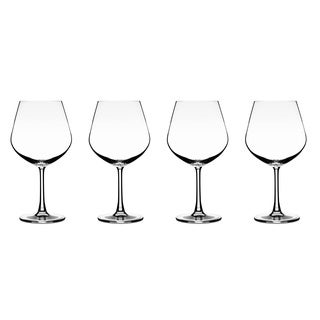 Vivere Burgundy Stemware (Set of 4)