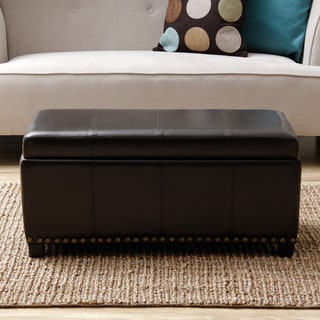 Warehouse of Tiffany 'Malm' Black Storage Bench