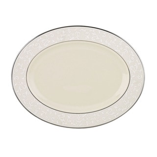 Lenox Pearl Innocence 13-inch Oval Platter