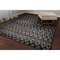 Provencal Tribal Grey Area Rug