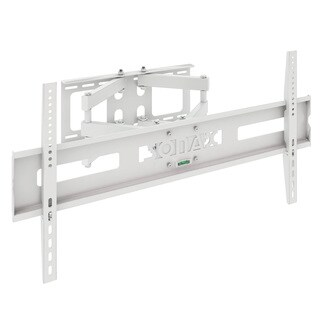 "Sonax M-011-MPM Full Motion Flat Panel White Wall Mount for 37"" - 70"" TVs"