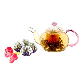 Tea Beyond Fab Flowering Tea Juliet Set