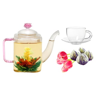 Tea Beyond Fab Flowering Jasmine Romeo Tea/ Cup Set