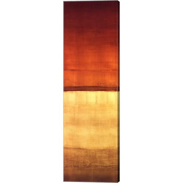 Randy Hibberd 'Color Panel III' Canvas Art