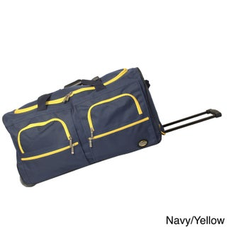 Rockland Mobilizer Lightweight 30-inch Rolling Duffel Bag