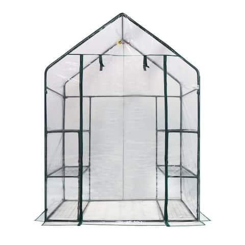Ogrow Deluxe 6-Shelf Walk-in Portable Greenhouse