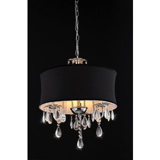 Link to 1-light Vince Crystal Chandelier Similar Items in Chandeliers