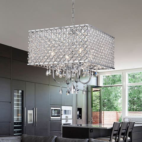 Royal Crystal Chandelier - 17x17x10