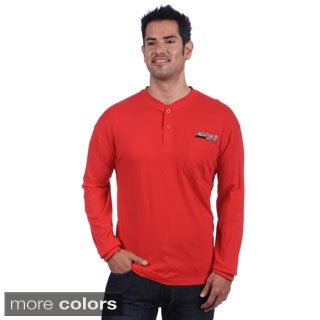 Case IH Men's Embroidered Knit Henley