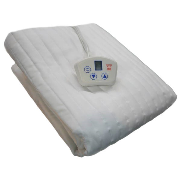 Electrowarmth Heated 1 Control Twin Extra Long Size Electric Mattress Pad