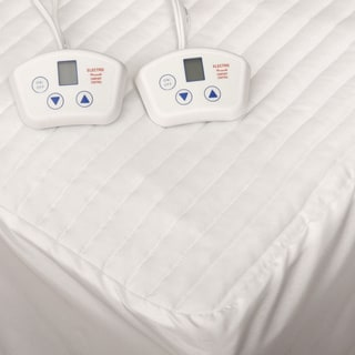 Electrowarmth Heated Dual-control Olympic Queen-size Electric Mattress Pad