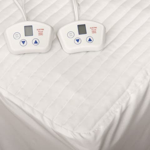 Electrowarmth Heated Dual-control Short Queen-size RV Electric Mattress Pad