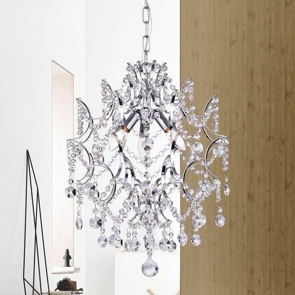3-light Crystal Chandelier