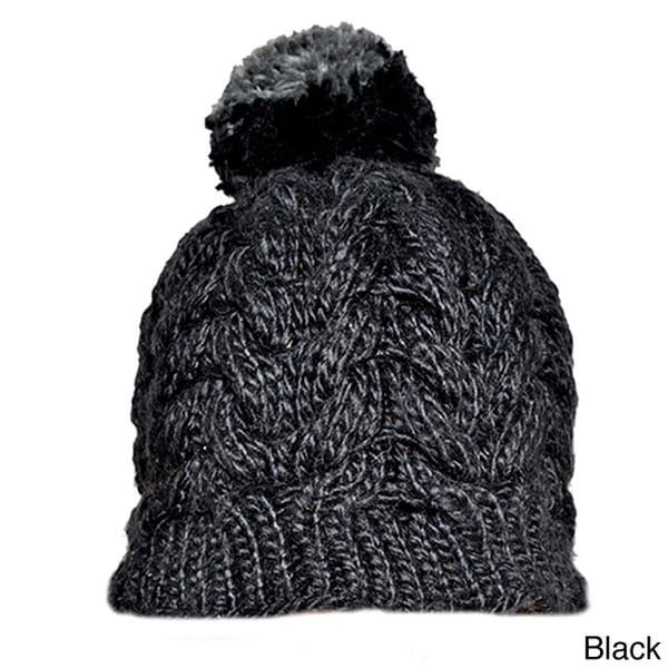 8d2a4a15f88 Shop Handmade Pompom Acrylic Wool Snowboarding Beanie (Nepal) - Free  Shipping On Orders Over  45 - Overstock - 8429041