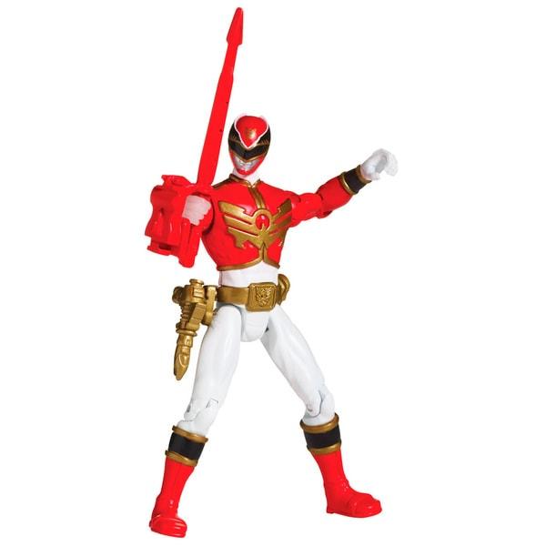 Bandai Power Rangers Red Ranger 4-inch Action Figure