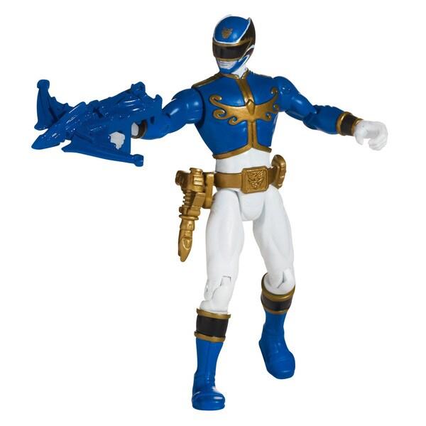 Bandai Power Rangers Blue Ranger 4-inch Action Figure