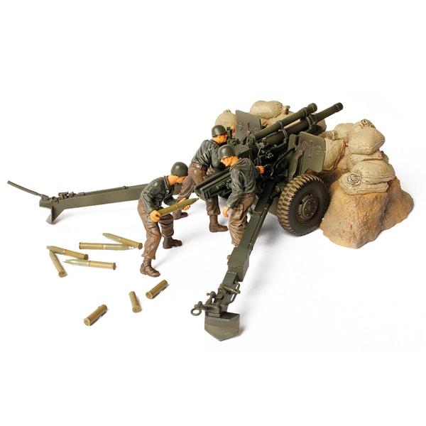 Forces of Valor Die Cast US M2A1 Howitzer