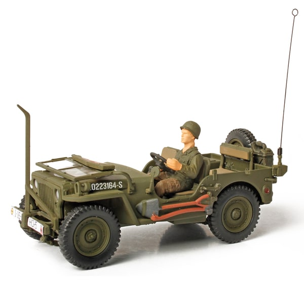 Forces of Valor Die Cast US General Purpose Vehicle