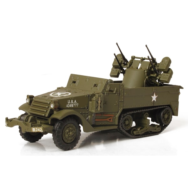 Forces of Valor Die Cast US M16 Gun Motor Carriage