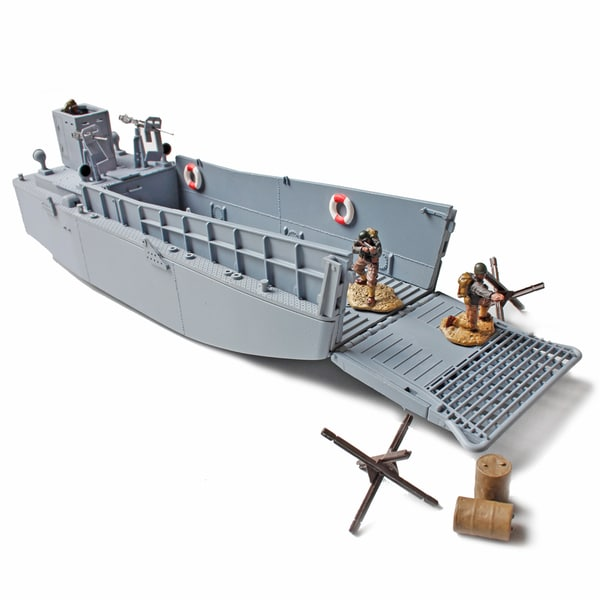 Forces of Valor Die Cast LSM3 Landing Craft