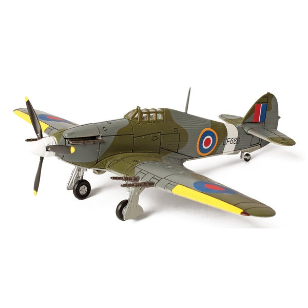 Forces of Valor Die Cast UK Hurricane RAF Serial
