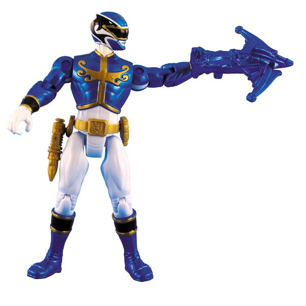 Power Rangers Metallic Blue Ranger 4-inch Action Figure