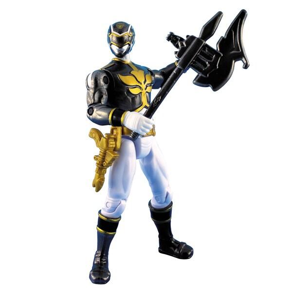 Power Rangers Metallic Black Ranger 4-inch Figure