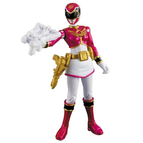 Power Rangers Metallic Pink Ranger 4-inch Action Figure