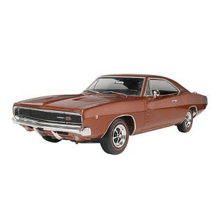 Revell 1968 Dodge Charger 2-in-1 Plastic Model Kit|https://ak1.ostkcdn.com/images/products/8429164/8429164/Revell-1968-Dodge-Charger-2-in-1-Plastic-Model-Kit-P15726241.jpg?impolicy=medium