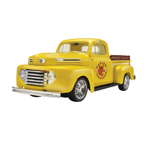 Revell 1950 Ford F1 Pickup 2-in-1 Plastic Model Kit