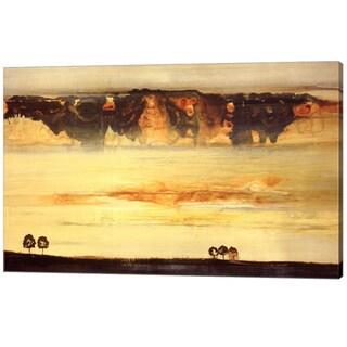 Sarah Stockstill 'New Land' Canvas Art