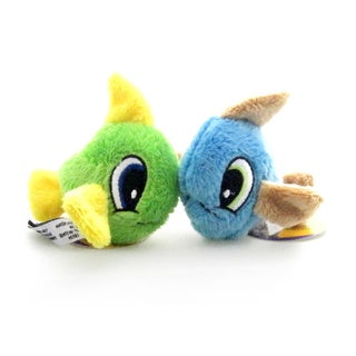 Loopies Catnip Big Eye Fish Pet Toys (2-pack)