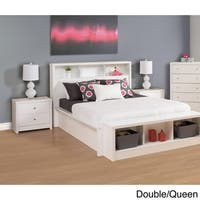 Havenside Home Keansburg Pure White Laminate Headboard