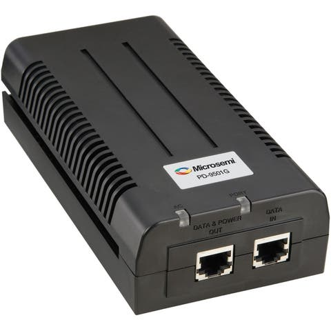 Microsemi Single Port Gigabit Midspan, 60W Over 4-pairs