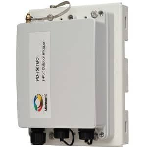 Microsemi 60W Single Port Outdoor Midspan