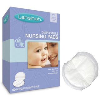 Lansinoh Disposable Nursing Pads (Pack of 60)