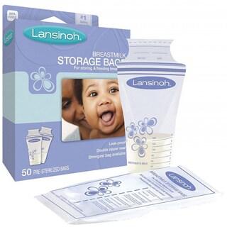 Lansinoh Breastmilk Storage Bag (Pack of 50)
