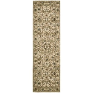 kathy ireland Lumiere Royal Countryside Beige Area Rug by Nourison (2'3 x 7'9)