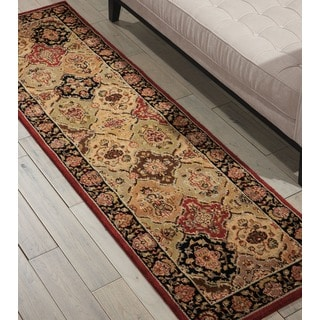 kathy ireland Lumiere Persian Tapestry Multicolor Area Rug by Nourison (2'3 x 7'9)