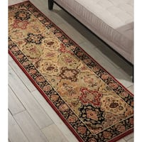 kathy ireland Lumiere Persian Tapestry Multicolor Area Rug by Nourison - 2'3 x 7'9