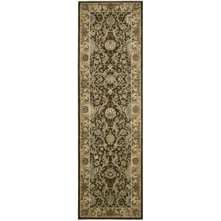 kathy ireland Lumiere Stateroom Espresso Area Rug by Nourison (2'3 x 7'9)