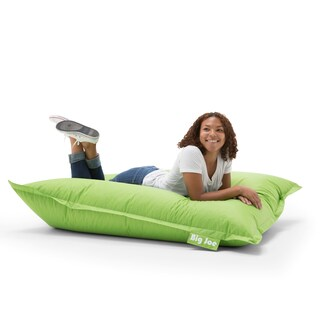 Big Joe Original Bean Bag Chair, Multiple Colors (Option: Polyester - spicy lime - Fabric)