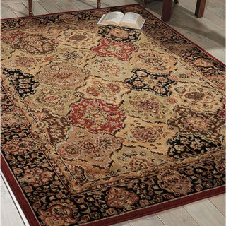kathy ireland Lumiere Persian Tapestry Multicolor Area Rug by Nourison (7'9 x 10'10)