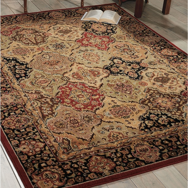 kathy ireland Lumiere Persian Tapestry Multicolor Area Rug by Nourison - 7'9 x 10'10