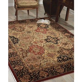 kathy ireland Lumiere Persian Tapestry Multicolor Area Rug by Nourison (5'3 x 7'5)