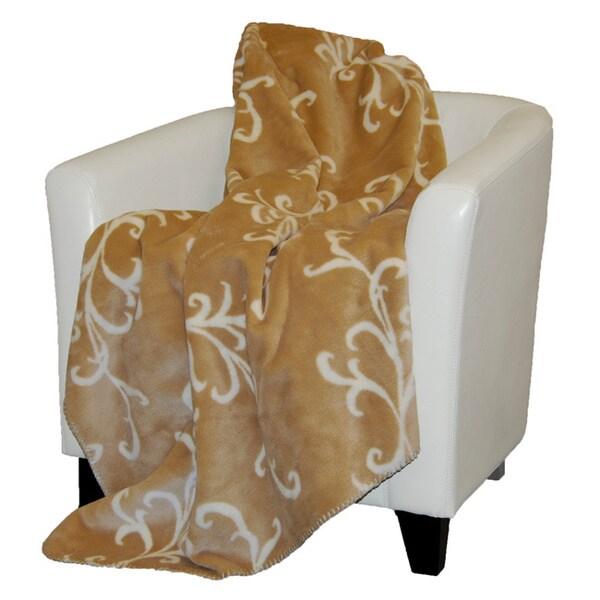 Denali Cashew Swirl Throw Blanket