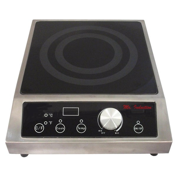 Spt 200 Watt Countertop Commercial Induction Range Free