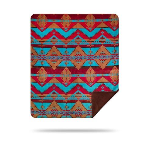 Denali Native Trail/Sable Blanket - 60x50