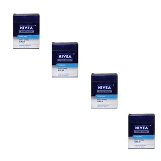 Nivea For Men Cooling 3.3-ounce Post Shave Balm (Pack of 4)